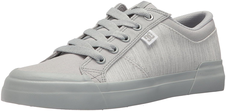 DC Women's Danni Tx Se Skate Shoe B0731YM7KS 6 B(M) US|Grey/Grey/Grey