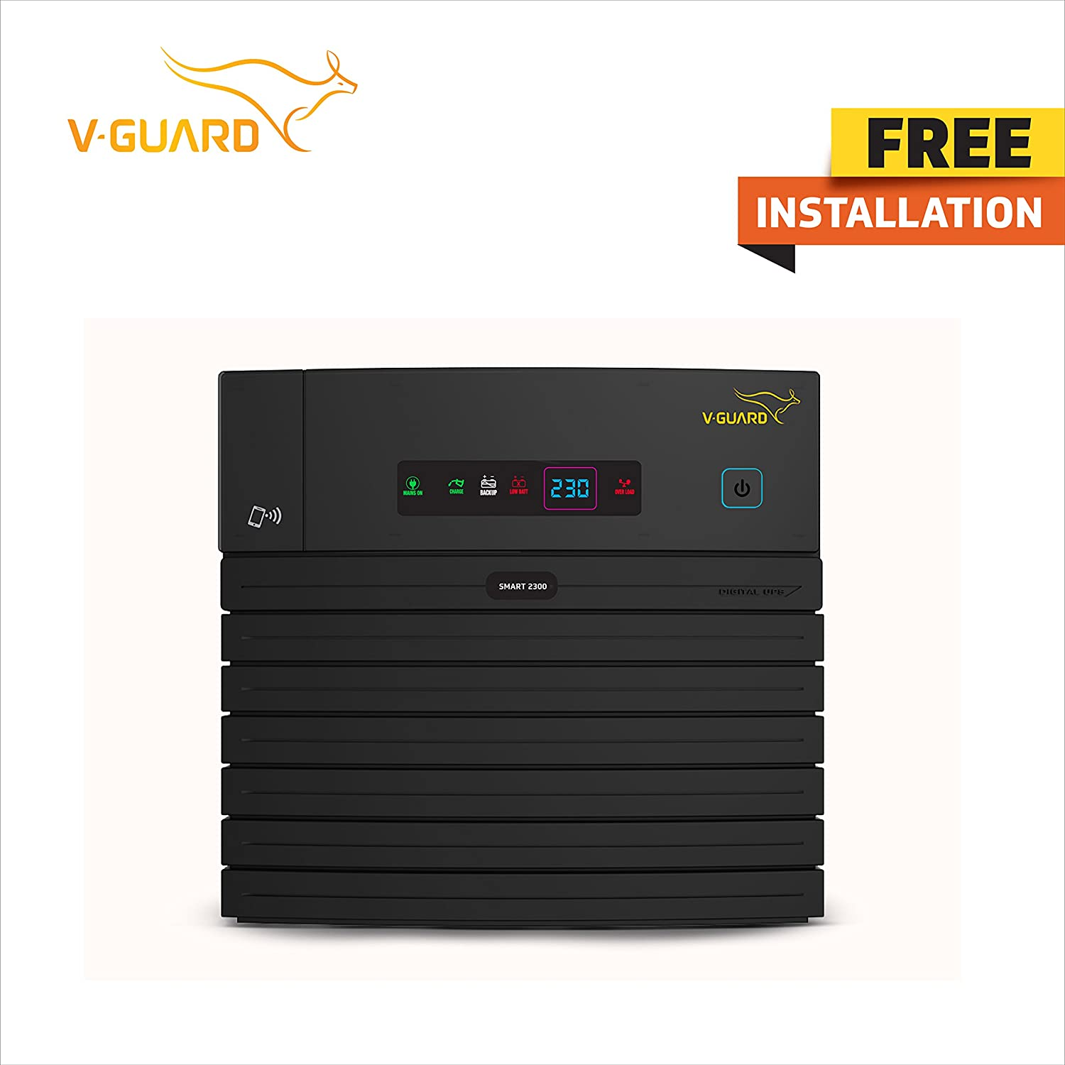 Digital UPS Smart 2300 with Mobile Connectivity and Install