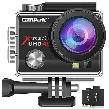 Campark® 4k WiFi Ultra HD Resistente al Agua Cámara de Acción Deportiva Temporizador y Grabación