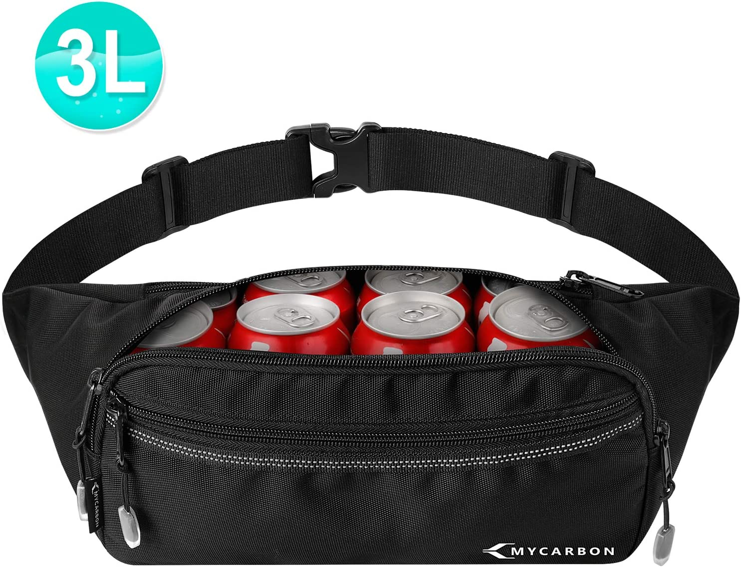 Grandma To Be Again Sport Waist Pack Fanny Pack Adjustable For Hike