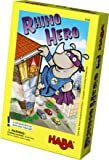 HABA Rhino Hero A Heroic Stacking Card Game for Ages 5 and Up - Triple Award Winner
