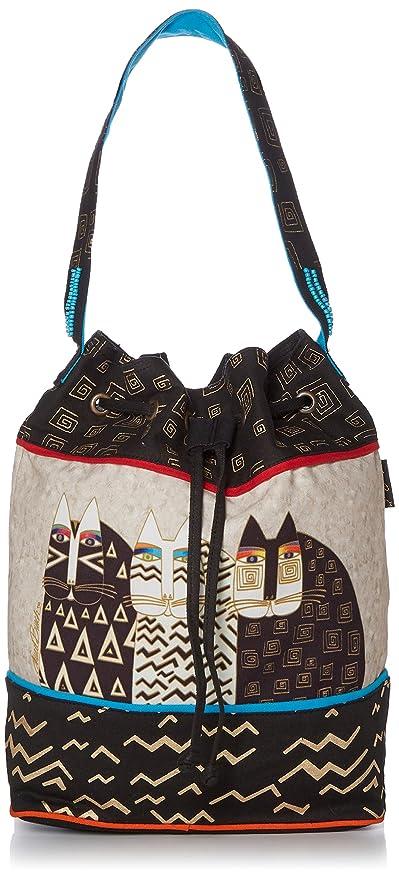 Amazon.com: Laurel Burch bolsa de cordón, 16 by 6,5 by 15 ...