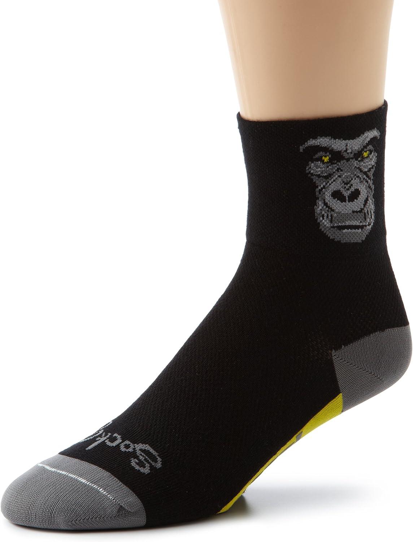 SockGuy Men's Silverback Socks