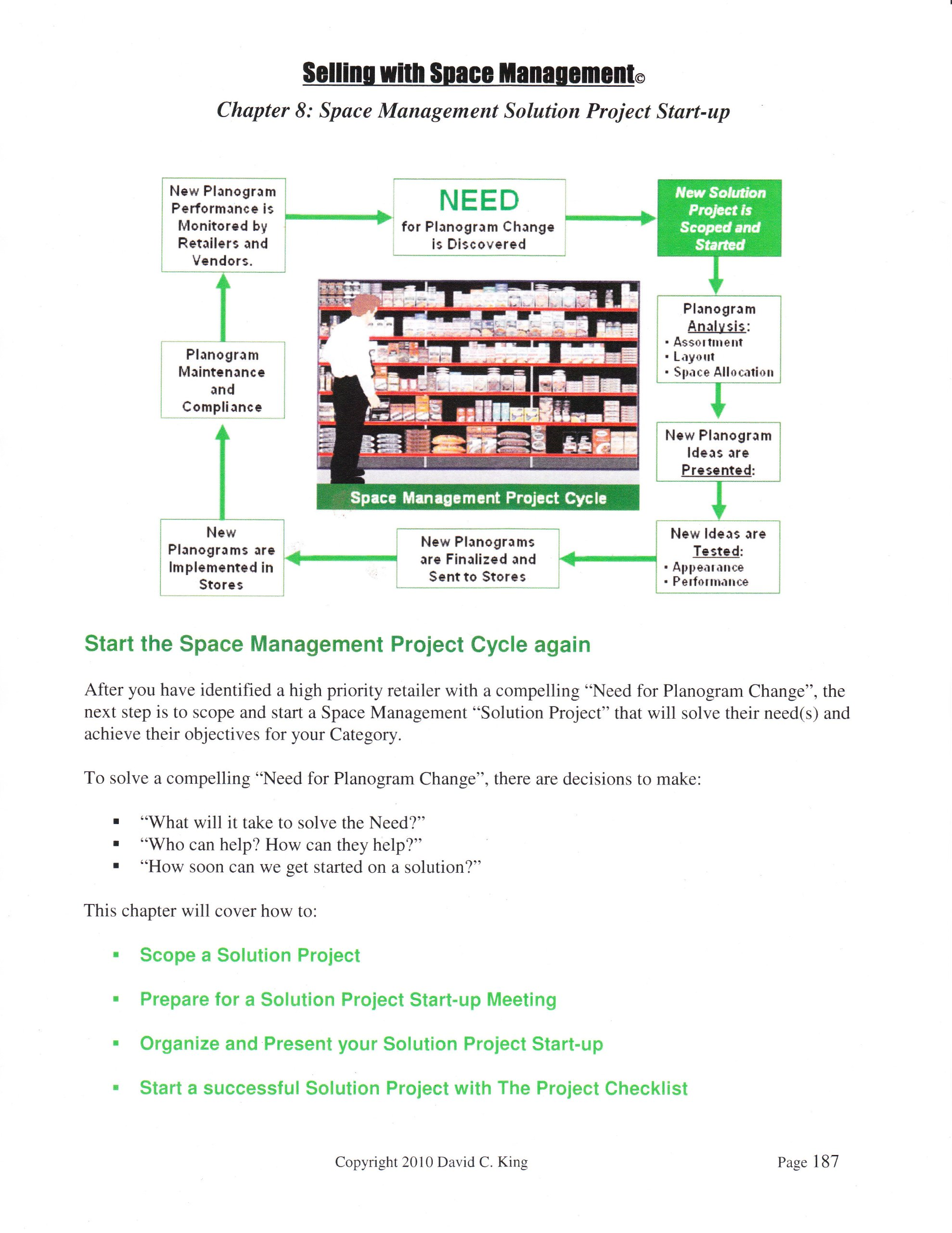 Selling with Space Management