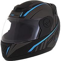 Pro Tork Capacete Evolution G6 Pro Neon Fosco 58 Preto/Azul