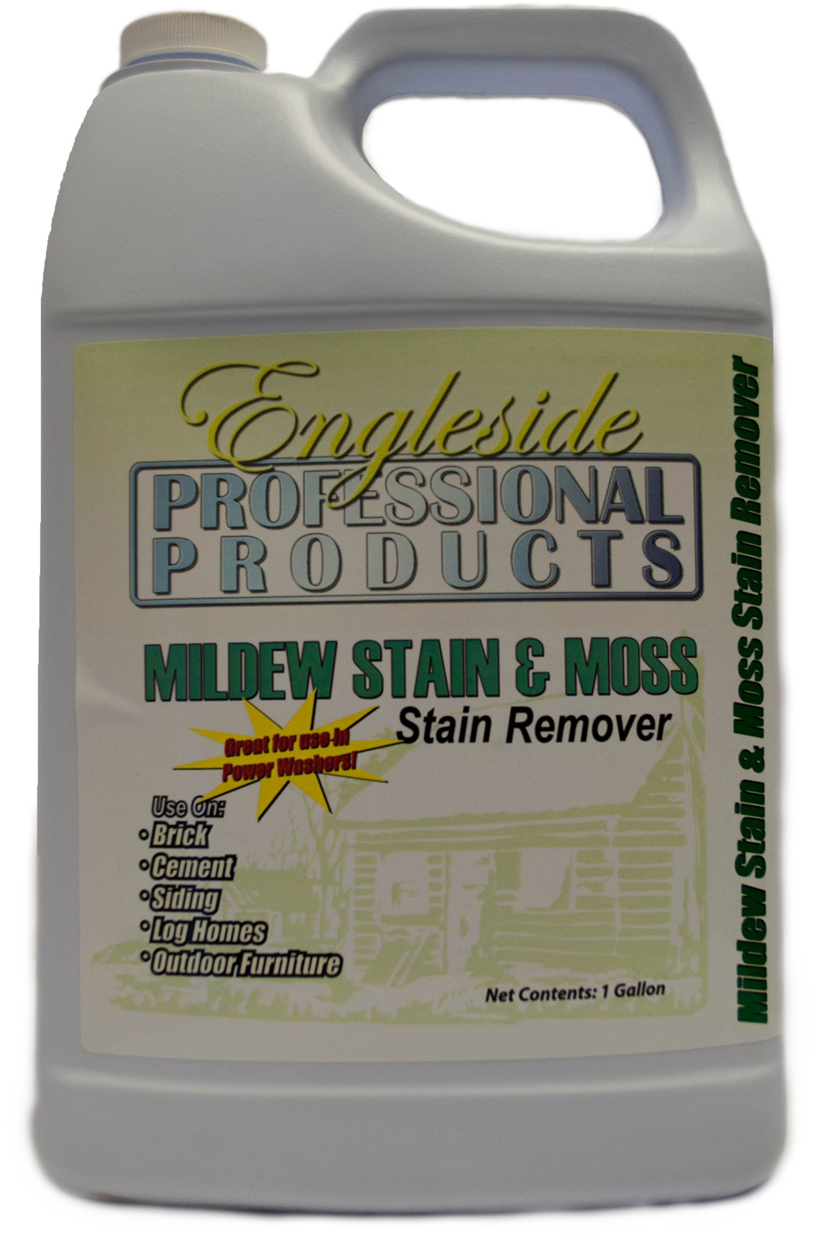 Professional Mildew Stain & Moss Stain Remover by Engleside Products