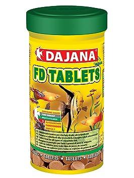 Dajana - Tablets Adhesive - Alimento en forma de pastilla para todo tipo de peces de acuario: Amazon.es: Deportes y aire libre