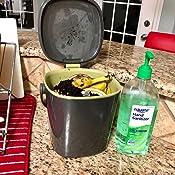 Amazon.com: OXO OXO Good Grips - Cubo de basura para compost ...
