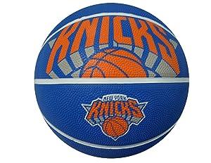 """Spalding NBA Courtside Team Outdoor Rubber Basketball Team Logo, 29.5"""""""
