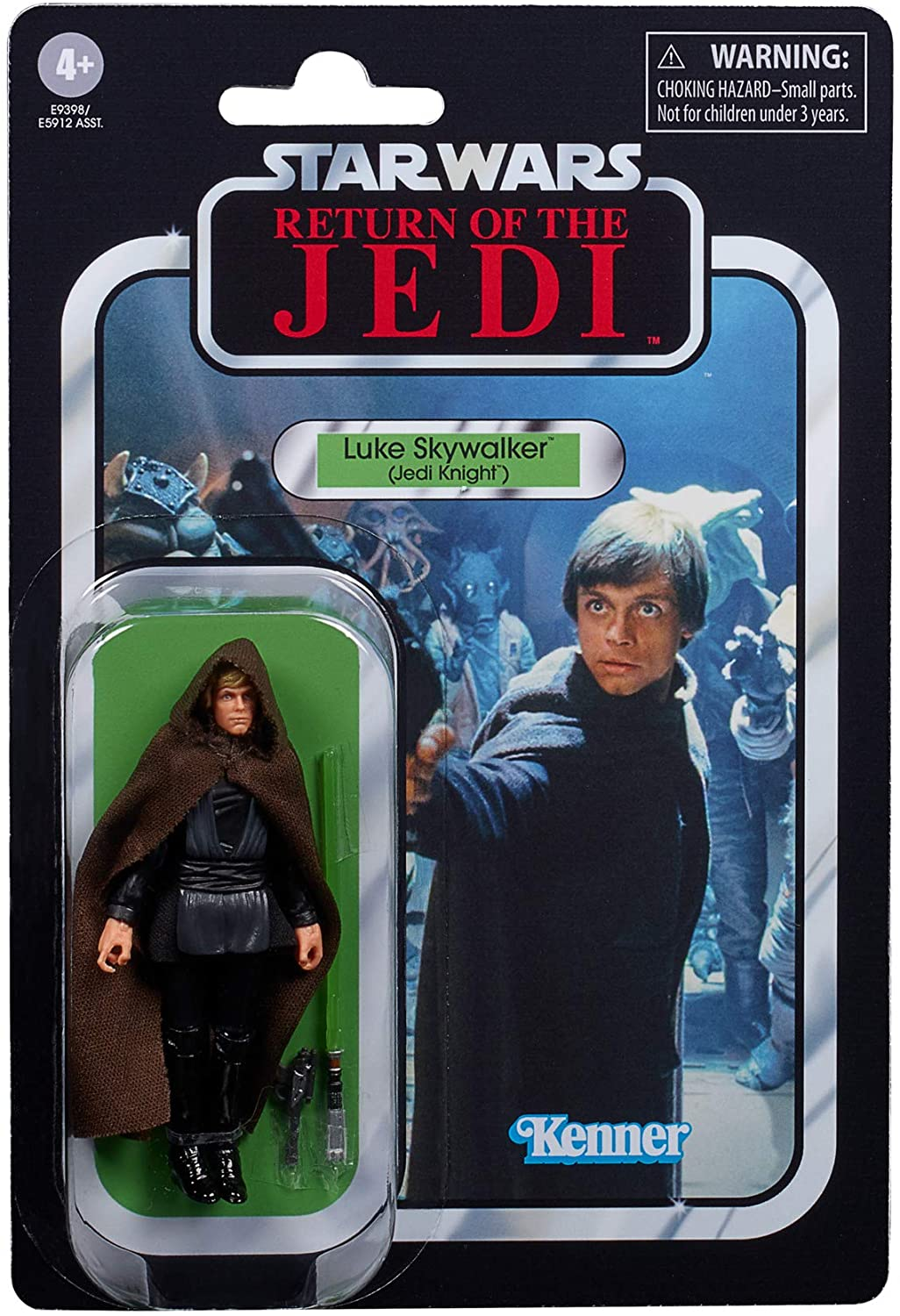 Amazon Com Star Wars The Vintage Collection Luke Skywalker Jedi Knight Toy 3 75 Inch Scale Return Of The Jedi Figure Kids Ages 4 And Up Toys Games