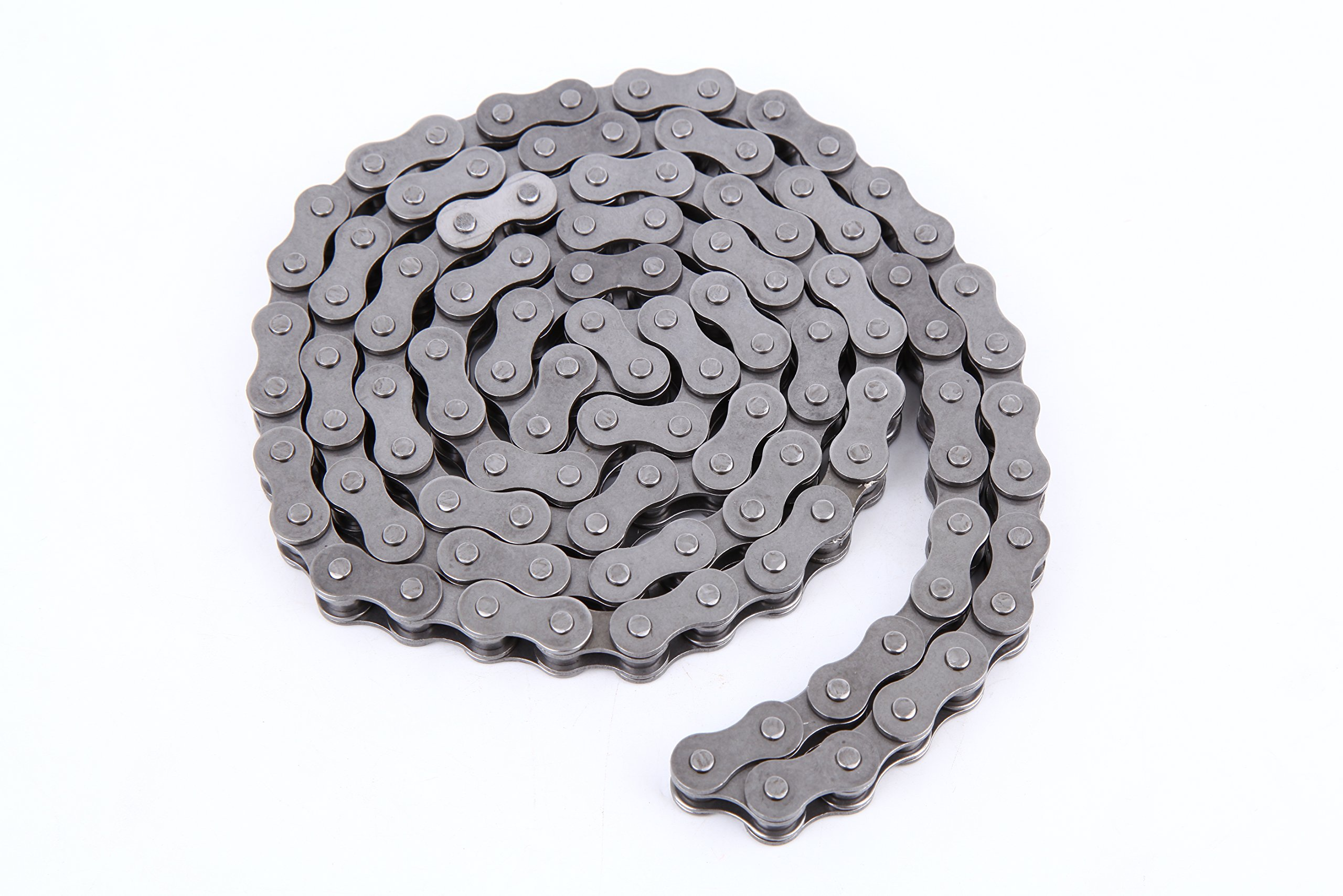 Iglobalbuy 415 Dirt Bike ATV Quad Bike Link Chain For TaoTao SUNL Honda Yamaha Kawasaki Suzuki 49cc 50cc 80cc Black