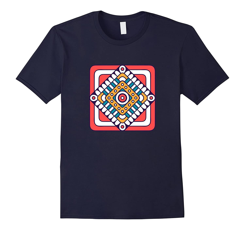 Tiles floor fashion and street life Tee shirt-Vaci