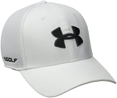 0d352f585c6 Under Armour Men s Golf Mesh Stretch 2.0 Cap  Amazon.in  Sports ...