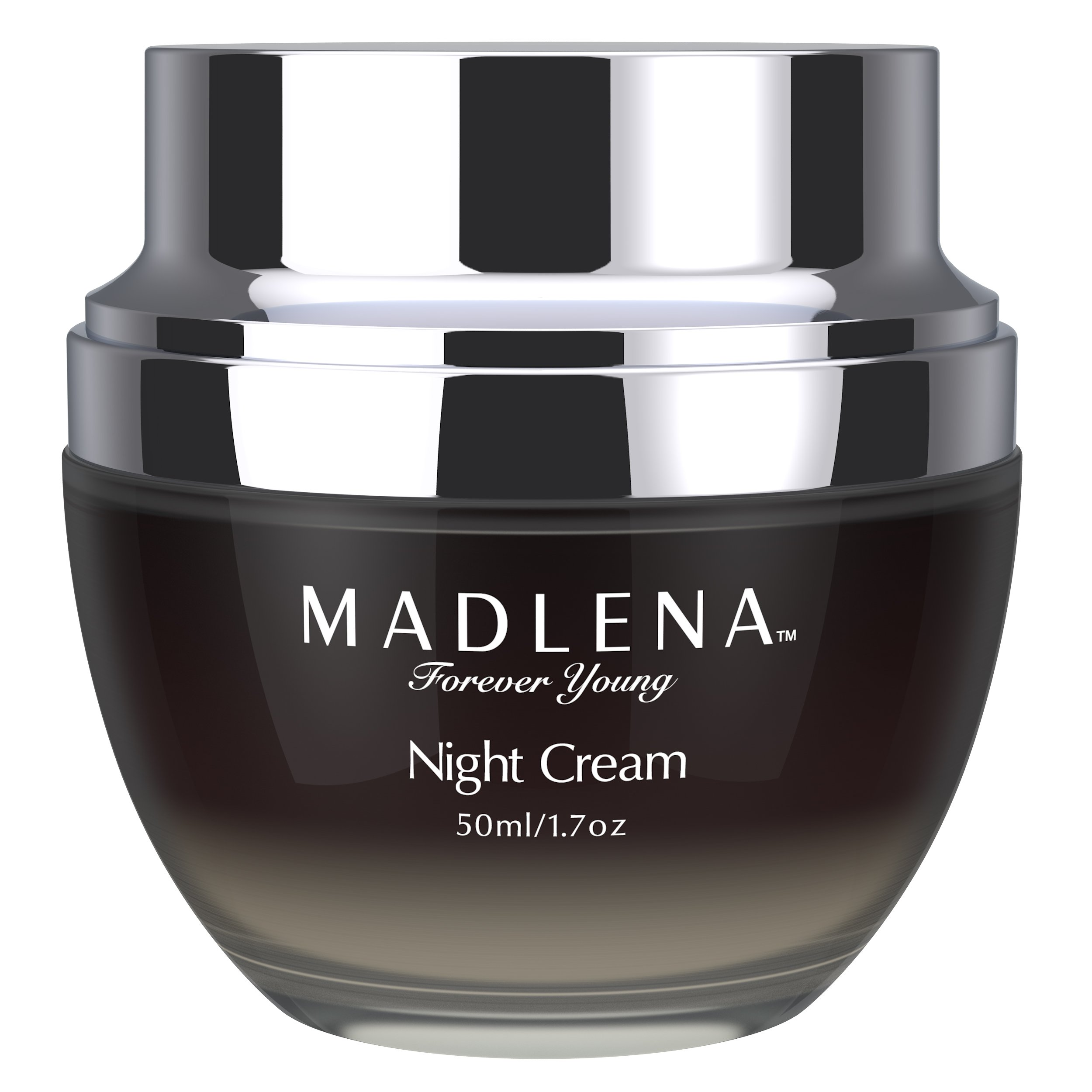 Madlena Advanced Anti-Aging Face & Neck Night Cream for Women - Powerful Anti-Wrinkle Beauty Care - Fade Lines, Repair Blemishes, Restore Skin Tone & Boosts Cell Regeneration While You Sleep
