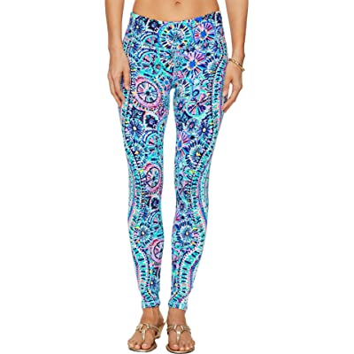 Lilly Pulitzer Women's UPF 50+ Luxletic Weekender Legging Multi The Swim Engineered XX-Small at Women's Clothing store