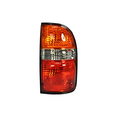 Right Passenger Side Tail Light Lamp for 2001-2004 Toyota Tacoma TO2801139 8155004060 Bulb Included - Include the bulb: Automotive