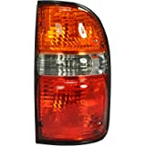 Dependable Direct Passenger Side (RH) Tail Light Lamp for 2001-2004 Toyota Tacoma TO2801139 8155004060 Bulb Included - Includ