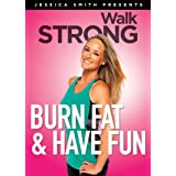 Burn Fat and Have Fun! 3 Low Impact Cardio Exercise Workouts, Walk Strong 2.0 with Jessica Smith