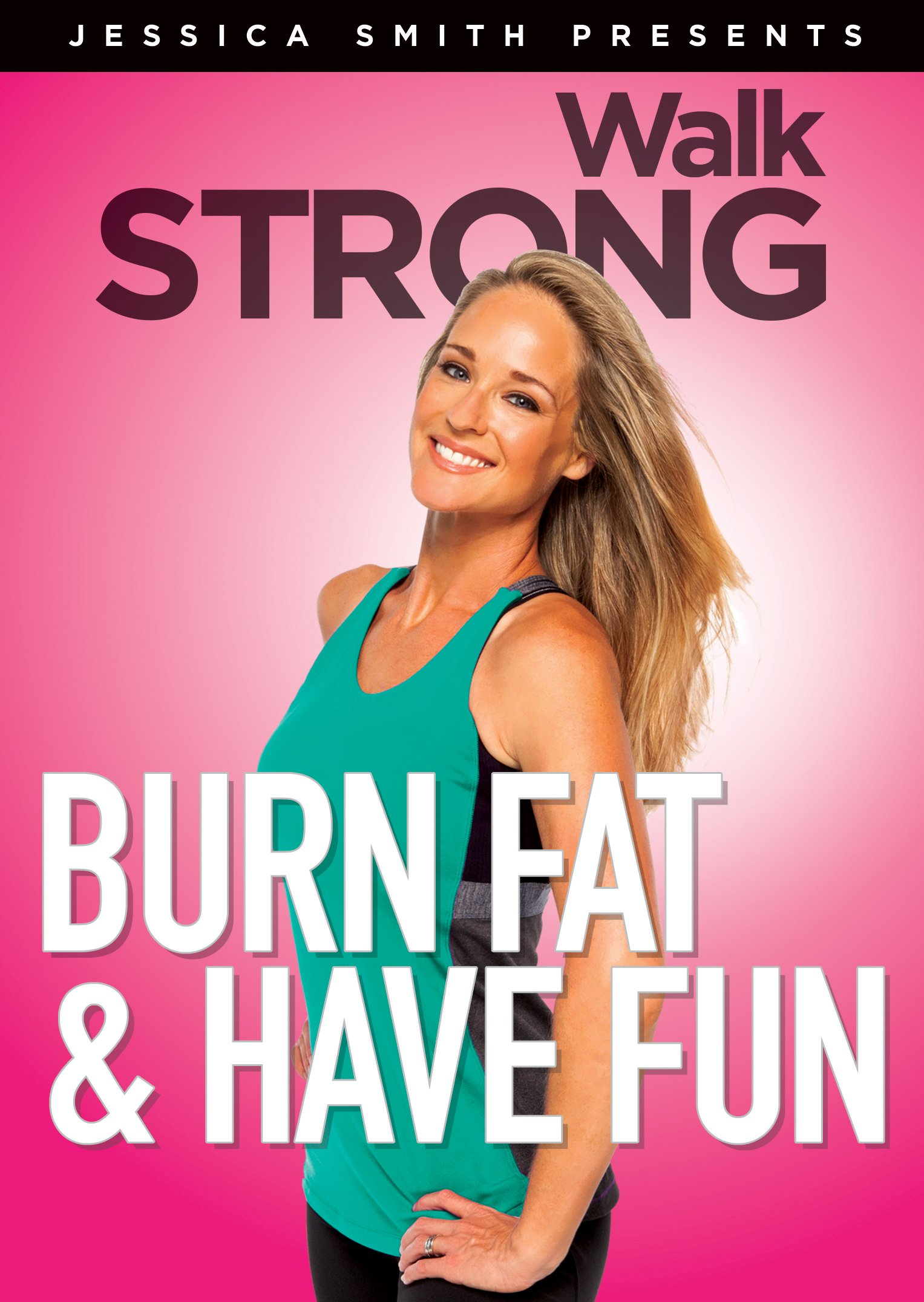 Burn Fat and Have Fun! Low Impact, High Results Home Cardio Exercise Video Walk Strong 2.0
