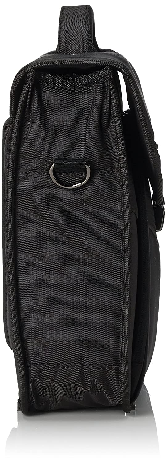 12 L 42 cm SAMSONITE Desklite Cartable Noir 67768-1041
