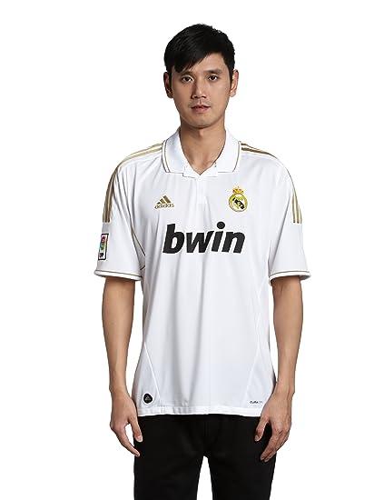 detailing 272cd 118ea 2011-12 Real Madrid Adidas Home Football Shirt