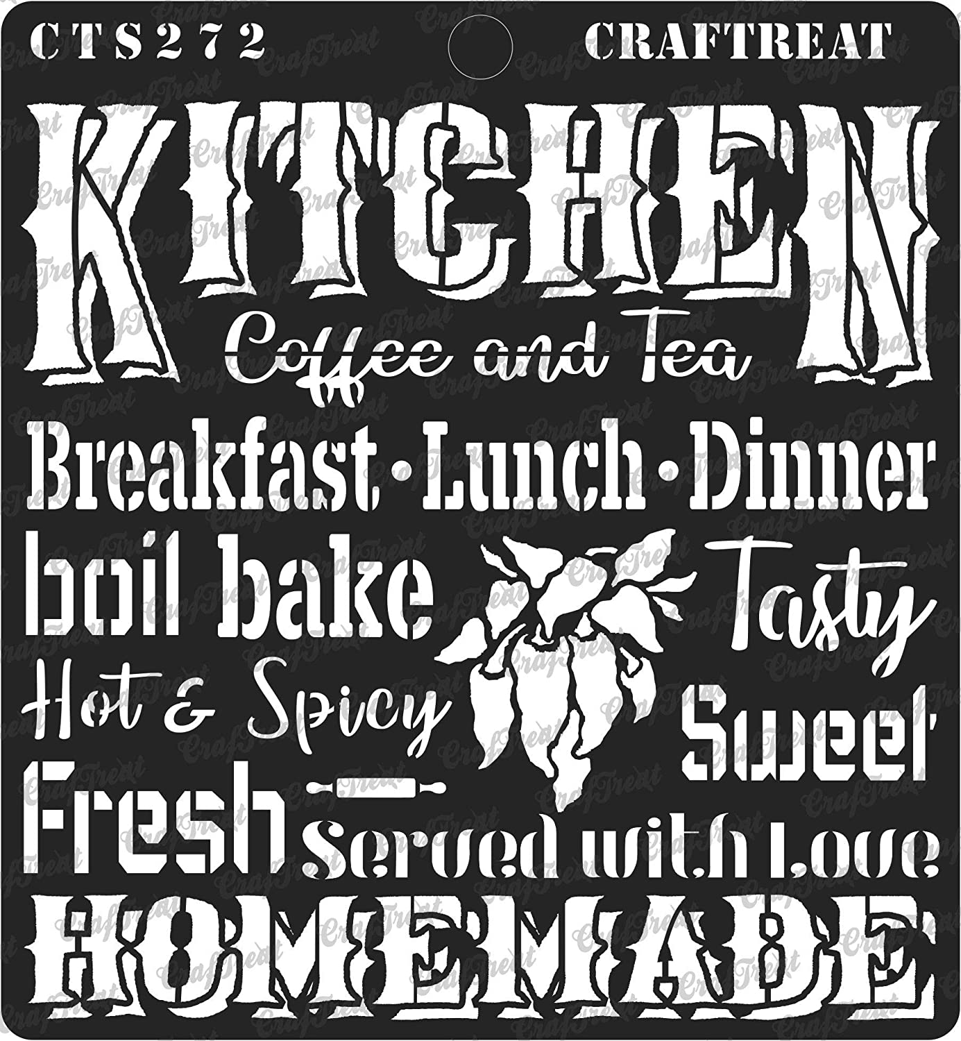 """CrafTreat Stencil - Kitchen 