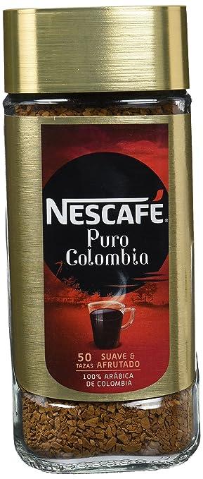 NESCAFÉ Café Puro Colombia Café Soluble | Bote de cristal: Amazon.es: Amazon Pantry