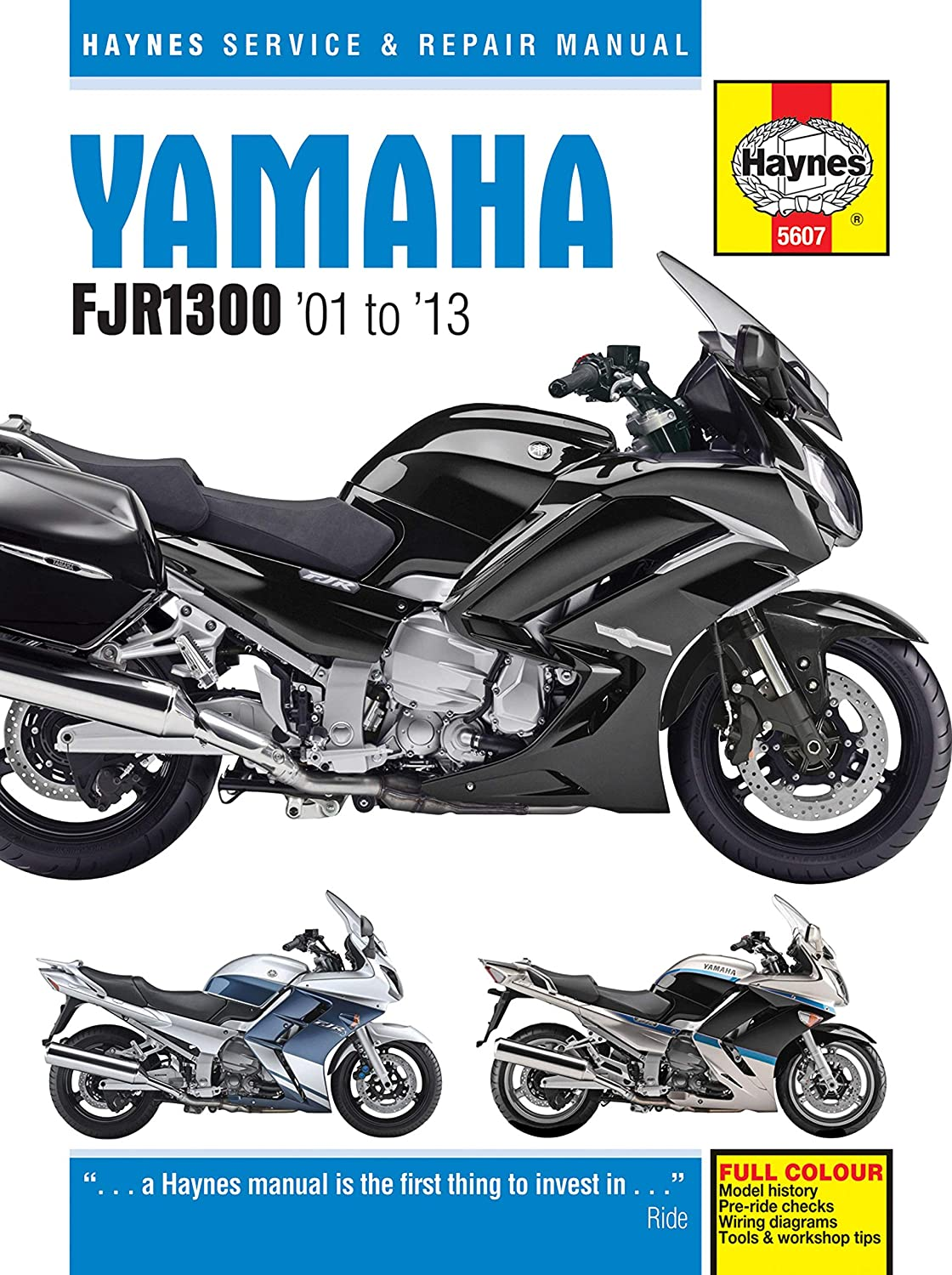 Yamaha Fjr1300 Haynes Manual 2001 2013 Car Motorbike Ih 606 Wiring Diagram