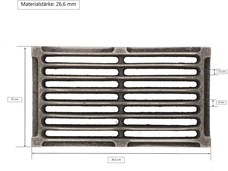 Diff/érentes tailles et formes Kotarbau Grille de chemin/ée en fonte