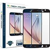 Tech Armor HD Ballistic Glass Screen Protector for Samsung Galaxy S6 – Black