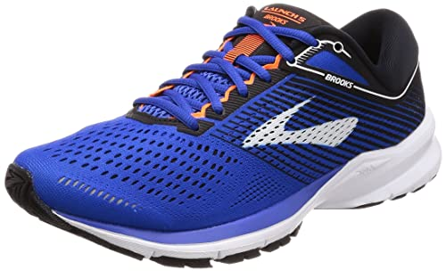Brooks Men s Launch 5 Blue Black Orange 8.5 D US