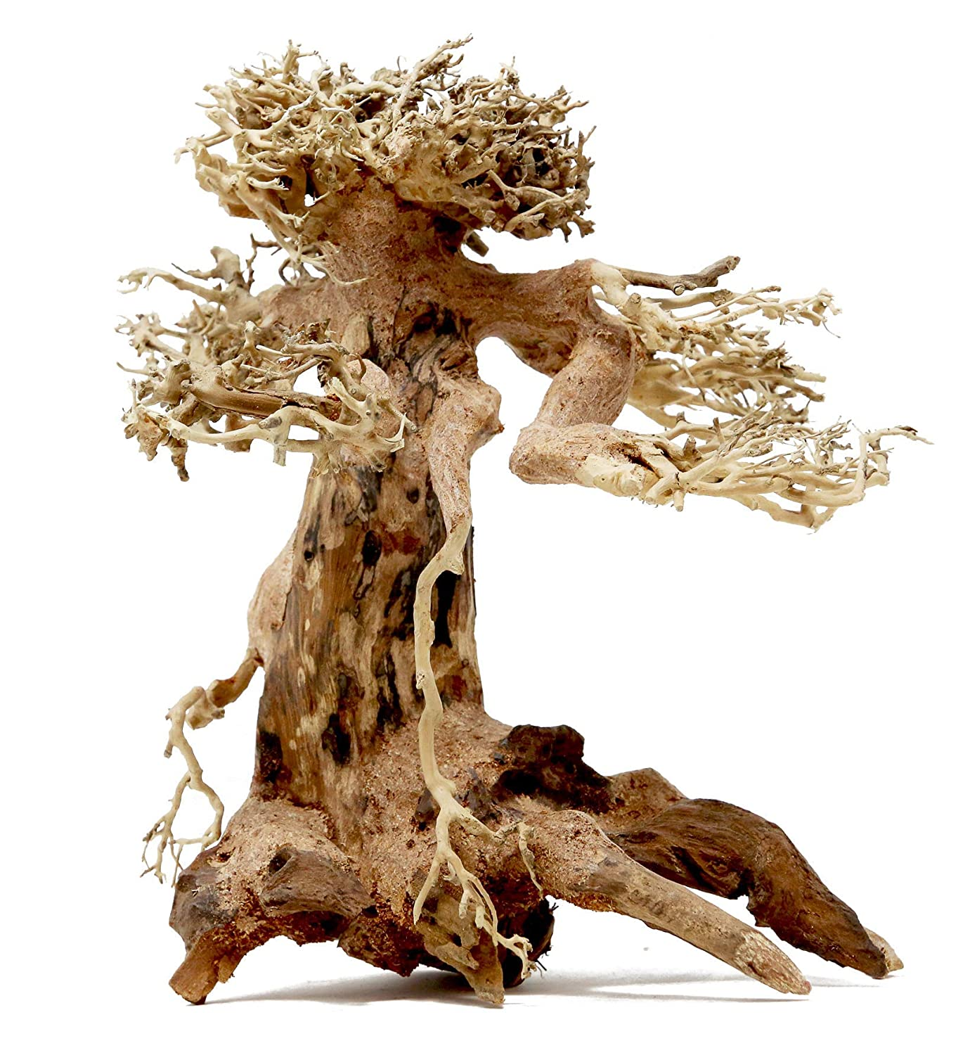Bonsai Driftwood Aquarium Tree Am 8 Inch Height X 6 Inch Length Natural Handcrafted Fish Tank Decoration Helps Balance Water Ph Levels Stabilizes Environments Easy To Install Amazon Com Grocery Gourmet Food