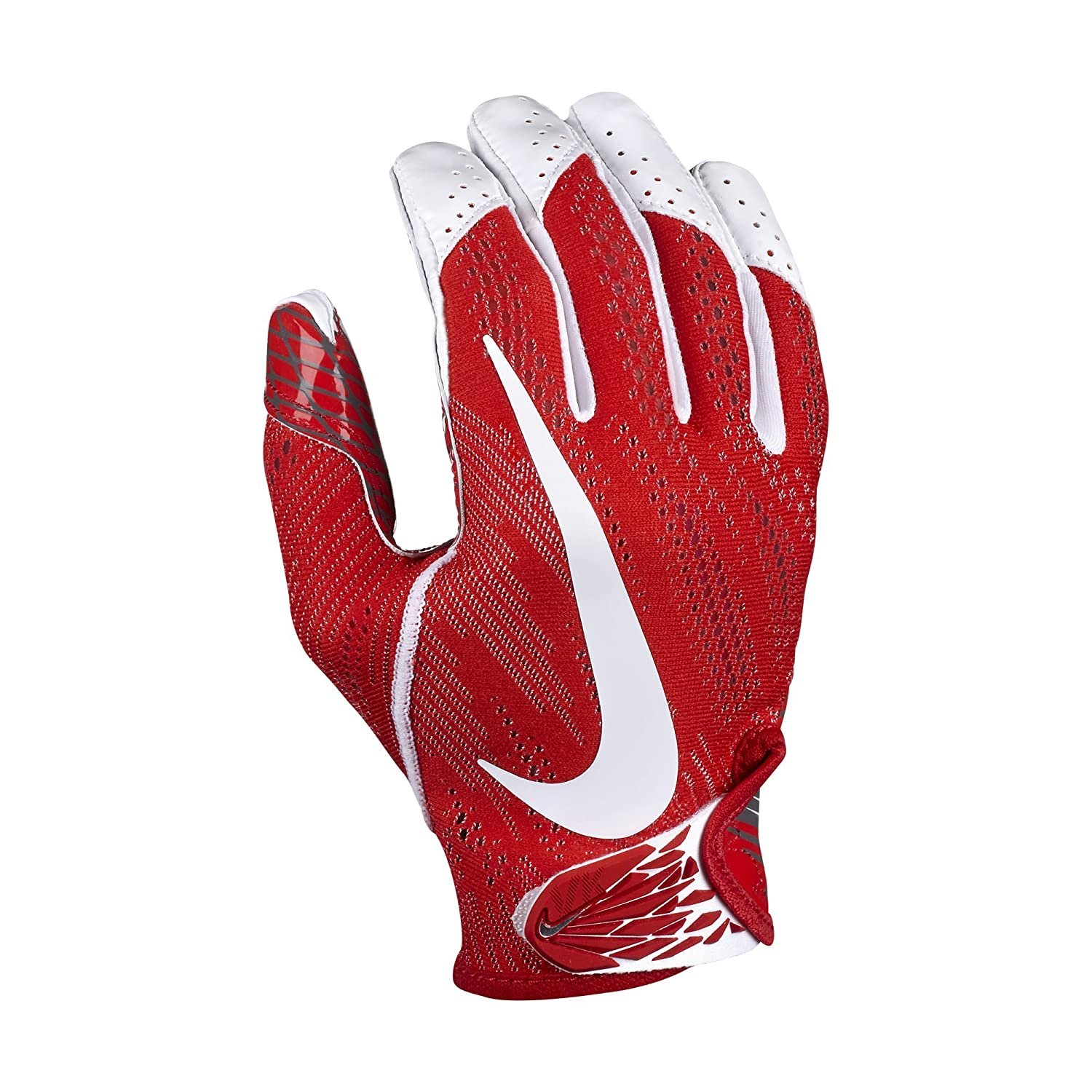 1ded7dd93a3 Amazon.com   Nike Adult Vapor Knit 2 Receiver Gloves Size Medium (ReD
