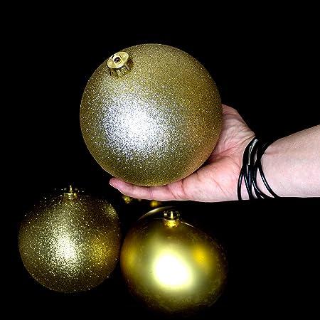 XXL Weihnachtskugeln-Set Ø15cm Christbaumkugeln Baumschmuck Tannenbaum Deko