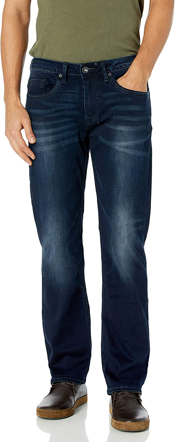 Buffalo David Bitton Men's Six Slim Straight Jean
