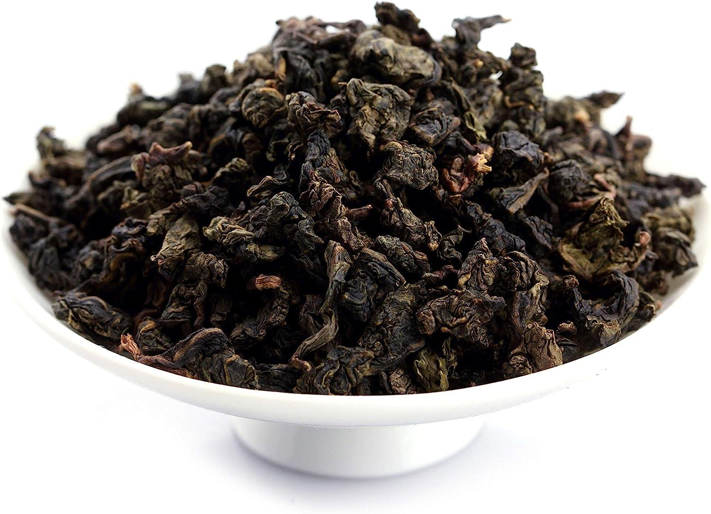 GOARTEA 1000g (35.2 Oz) Premium High Mountain Fujian Organic Anxi ROASTED Dark Tie Guan Yin Iron Goddess Chinese Oolong Tea