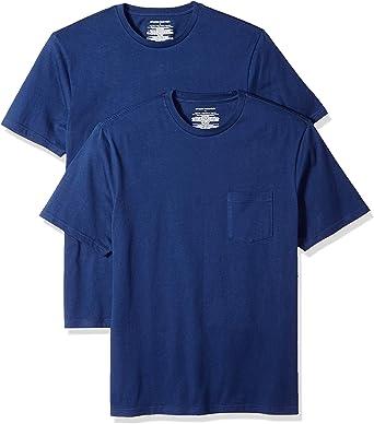 Amazon Essentials - Pack de 2 camisetas de manga corta y corte ...