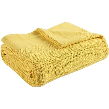 Fiesta Thermal Cotton Blanket, Full/Queen, Sunflower