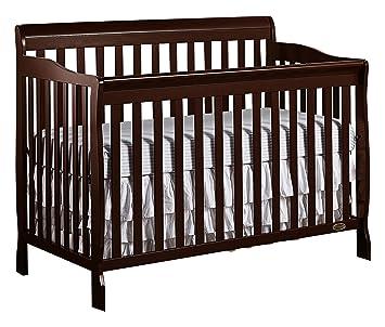 Amazon Com Dream On Me Ashton 5 In 1 Convertible Crib Espresso Baby