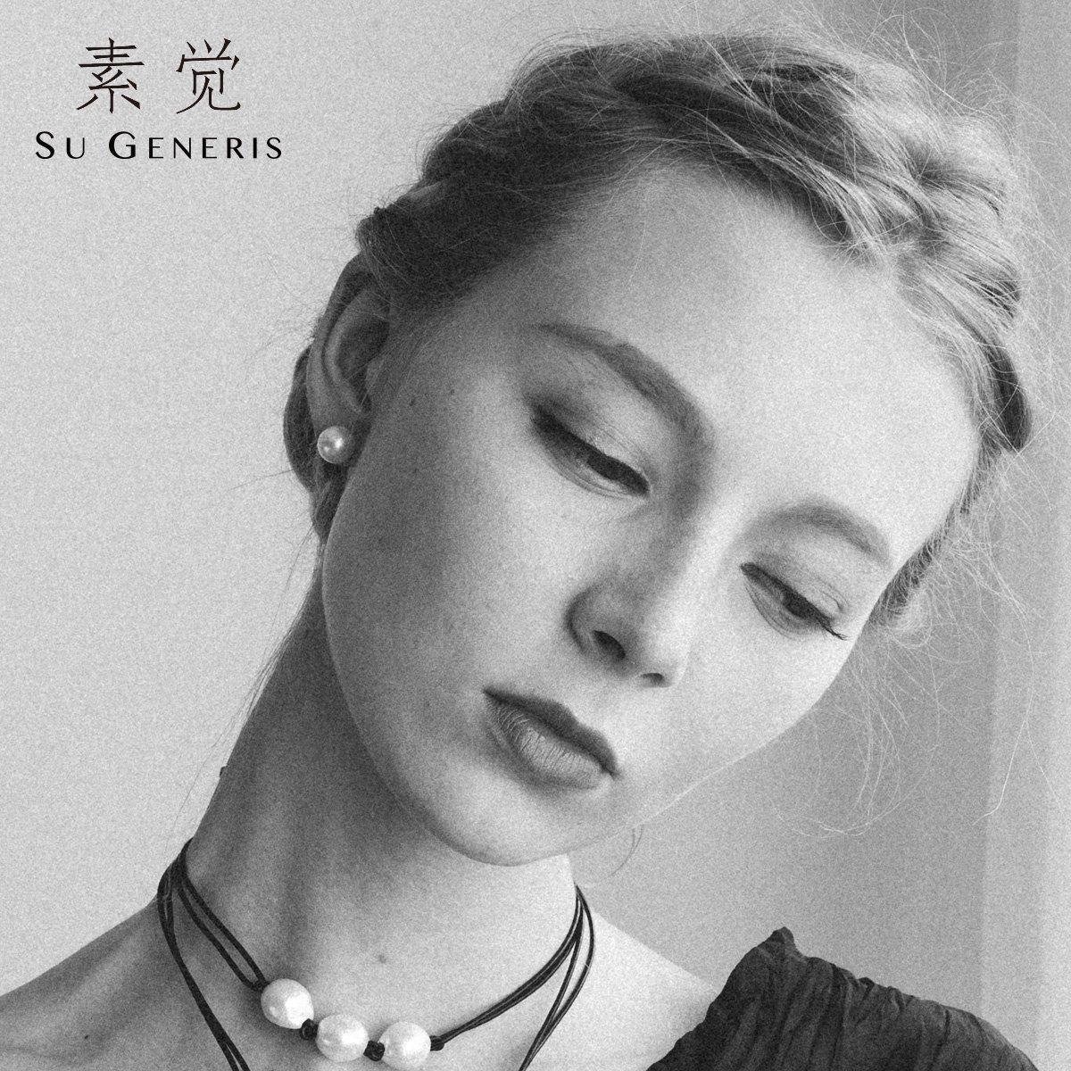 BAGEHAN Designer Marke Süßwasserperle Ohrstecker Ohrringe Licht rund um die Gründlegenden Modelle der Frau 8 5-9 mm 8.5-9mm
