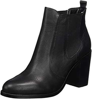 02c66a78f60b Buffalo London Damen 416-7044 INDIOS Leather Chelsea Boots, Schwarz (Black  01)