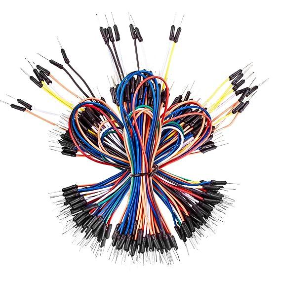 Amazon.com: Smraza Breadboard Jumper Wires 195pcs,Male to Male for ...