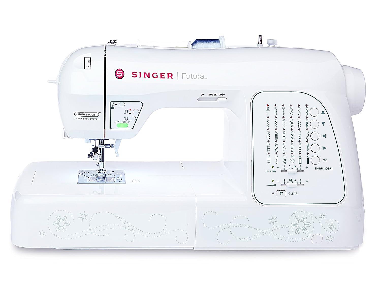 Singer Futura XL420 - Máquina de Coser y Bordar, Color Blanco ...