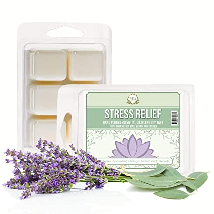 Aira Soy Wax Melt - Organic, Vegan, Kosher, Scented Soy Wax Cubes  w/Essential Oil Blends - No Chemical 100% Soy Wax Melts for  Electric/Tealight