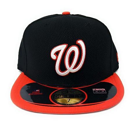 4fe90c0c10a628 New Era MLB Washington Nationals Diamond Era POP 59FIFTY Fitted Cap  (Black Infrared)