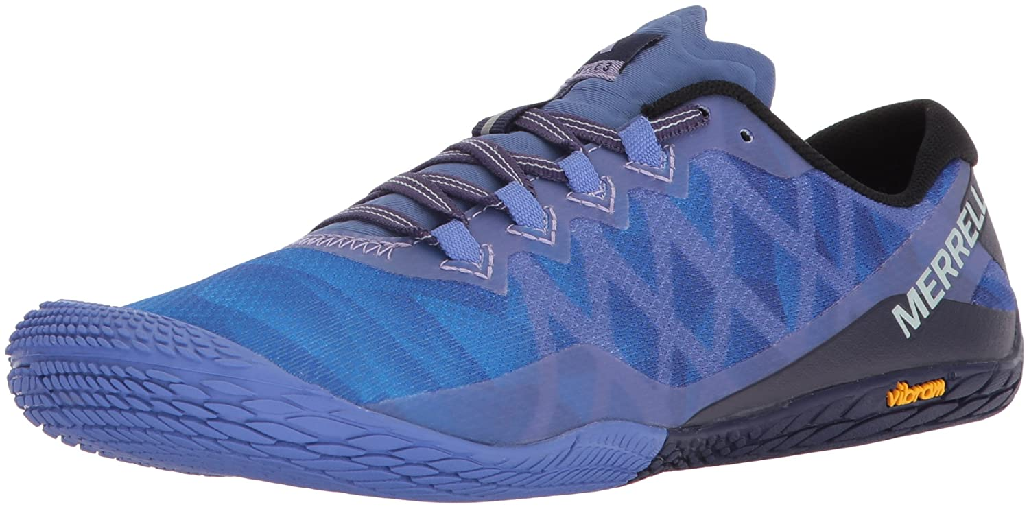 Merrell Women's Vapor Glove 3 Trail Runner B071WN3LB3 9 B(M) US|Baja Blue