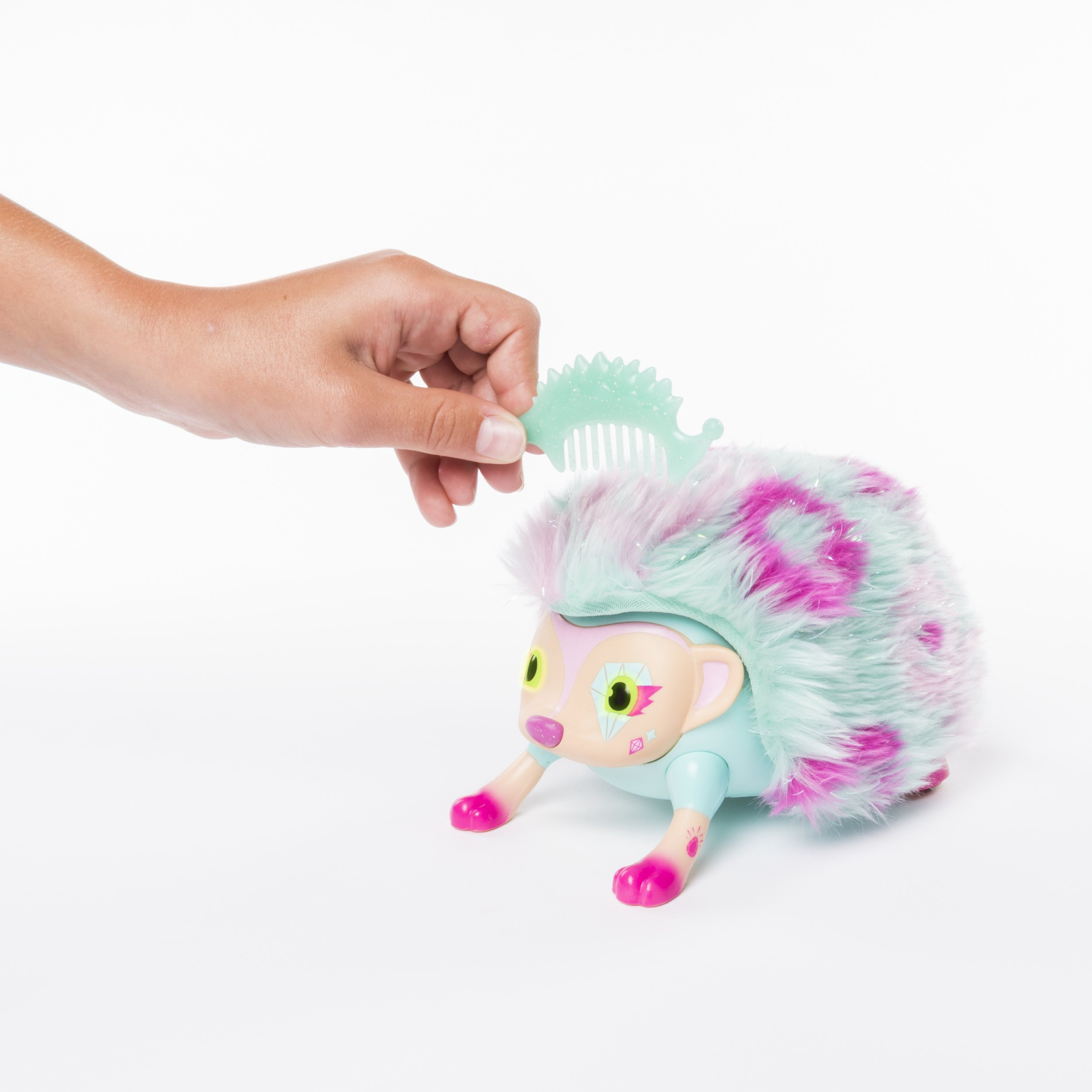 Zoomer Hedgiez Interactive Hedgehog with Lights, Sounds and Sensors, by Spin Master by Zoomer (Image #5)