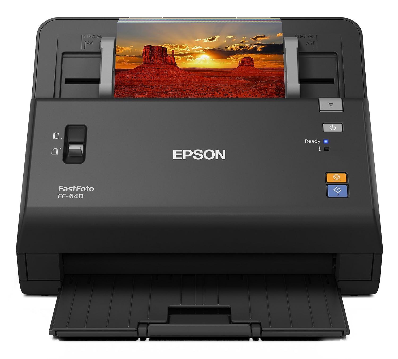 epson fastfoto ff 640 high speed photo scanning system