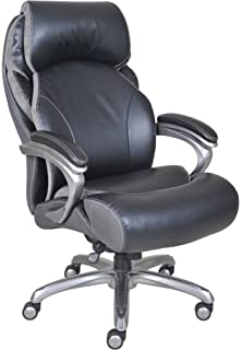 Exceptionnel Serta Big And Tall Smart Layers Tranquility Executive Office Chair With AIR  Technology, Black