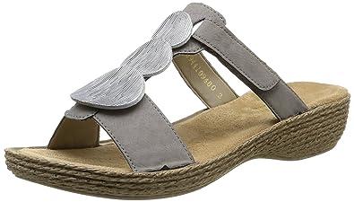 6017d9f9f922 Rieker 65853/44, Sandales femme: Amazon.fr: Chaussures et Sacs